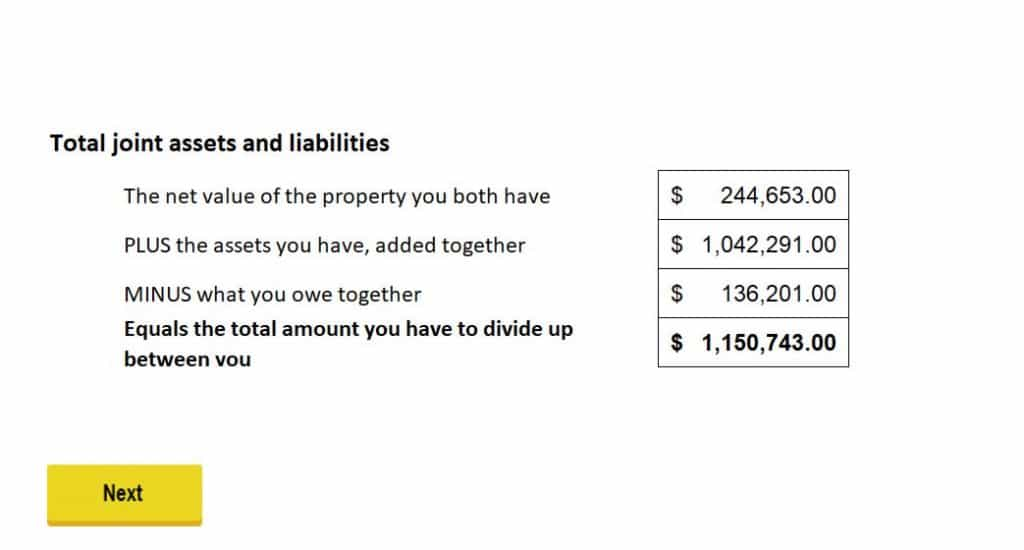 Divorce Equalization Payment Calculator | Divorce in Ontario