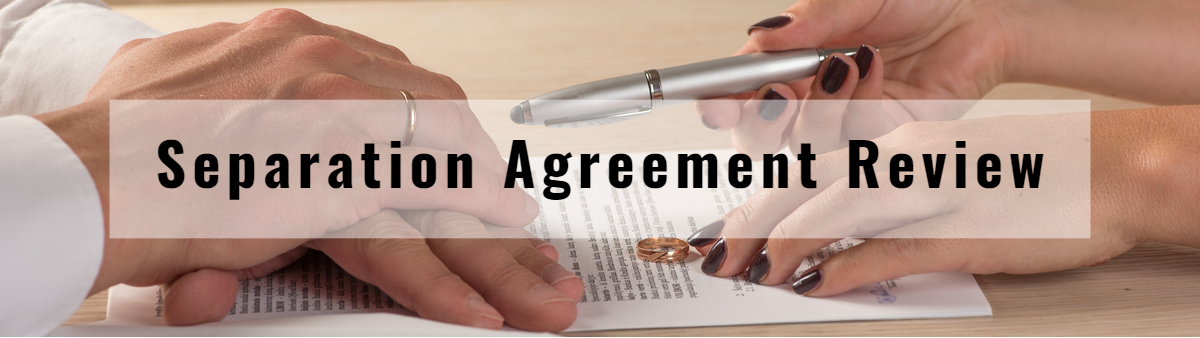 Separation Agreement Review