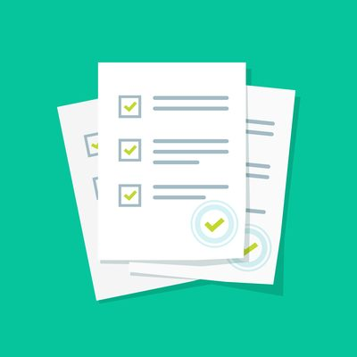 make your own separation agreement checklist review